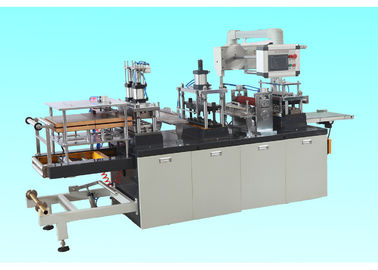 Professional Plastic Lid Forming Machine For Ice Cream Cup / Coffee Paper Cup