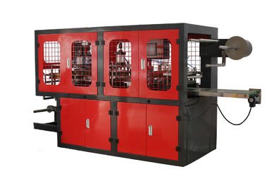 High Speed Plastic Cover Making Machine Low Noise Environment Friendly