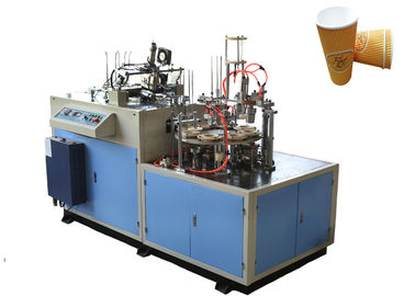 چین High Power Ultrasonic Paper Cup Sleeve Machine , Paper Cup Jacketing Machine توزیع کننده