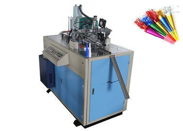 Full Auto Paper Horn Forming Machine Custom Printed CE Certification
